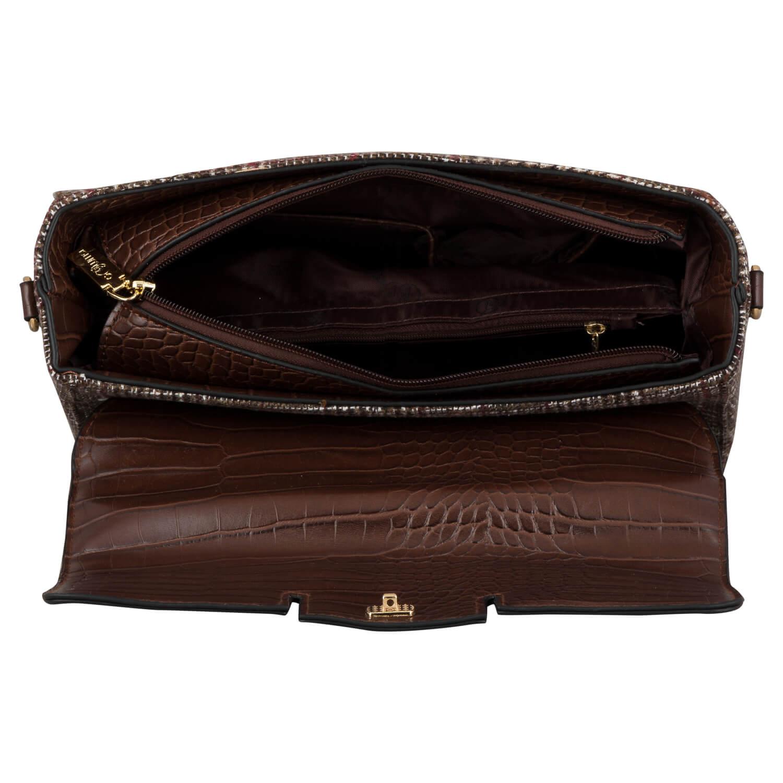 HAND BAG (CLP)-CAMEL 14