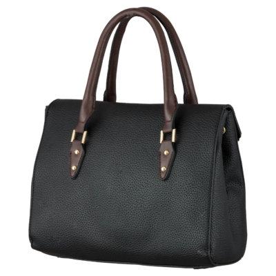 HAND BAG (ZS)-BLACK 1