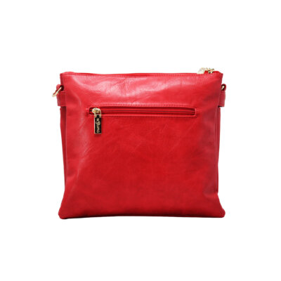 CROSS BODY BAG (FS)-RED 3