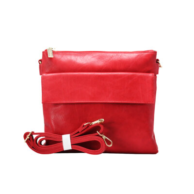 CROSS BODY BAG (FS)-RED 1
