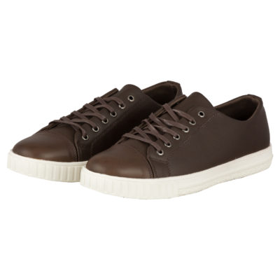 CASUAL LACE UP- BROWN 1