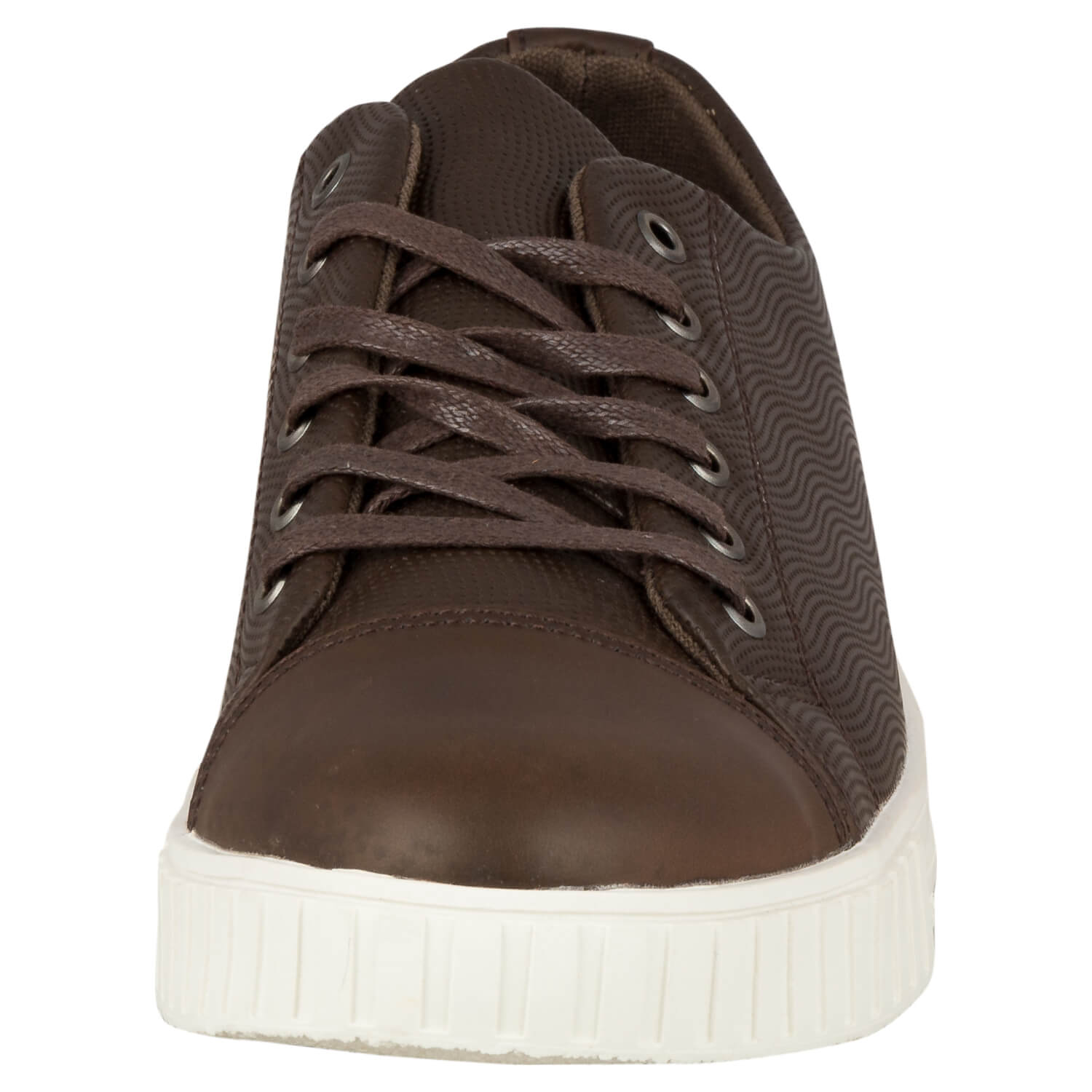 CASUAL LACE UP- BROWN 11