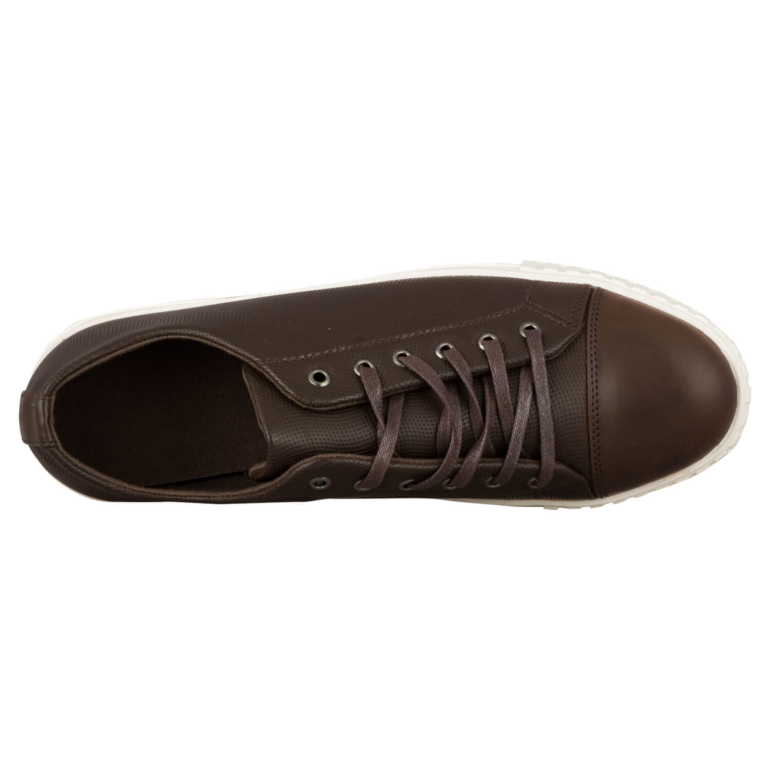 CASUAL LACE UP- BROWN 10