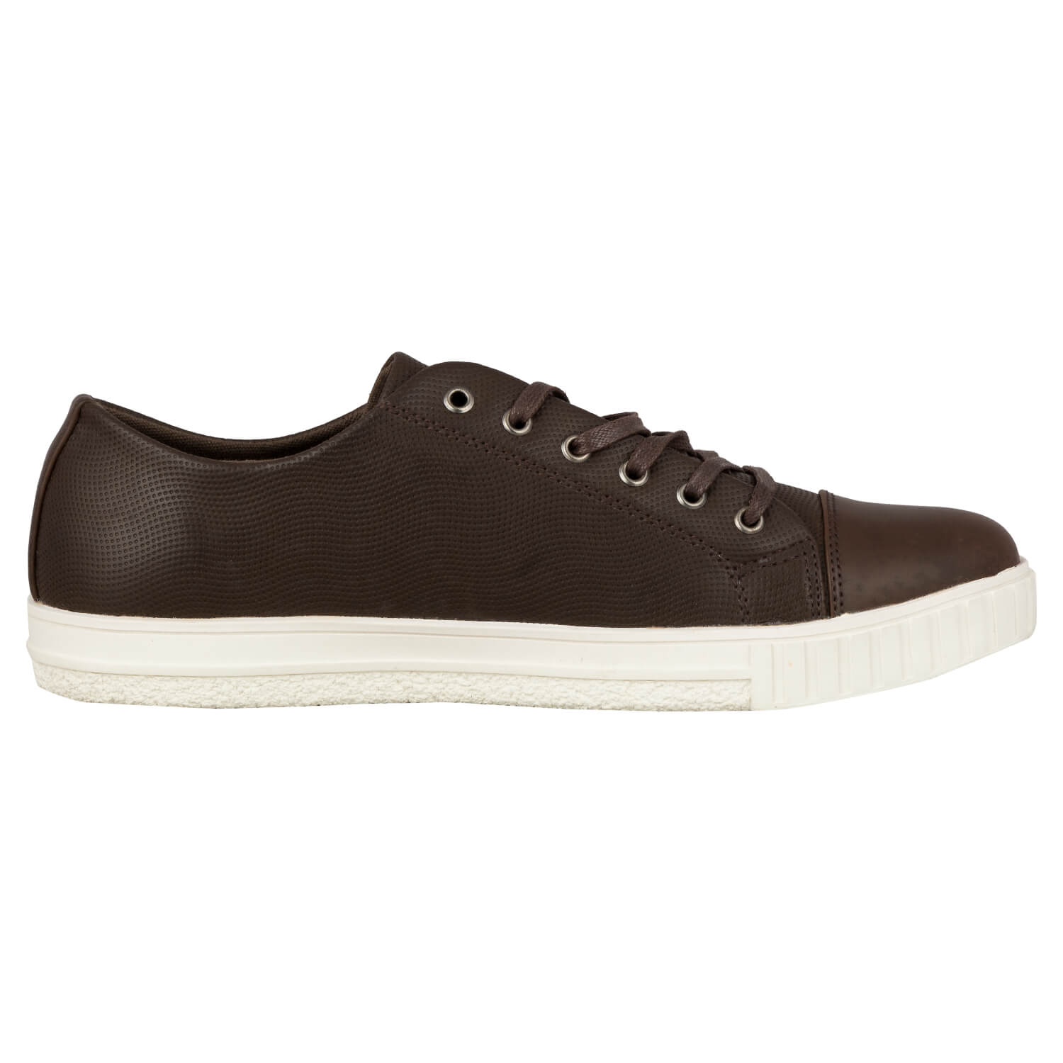 CASUAL LACE UP- BROWN 13