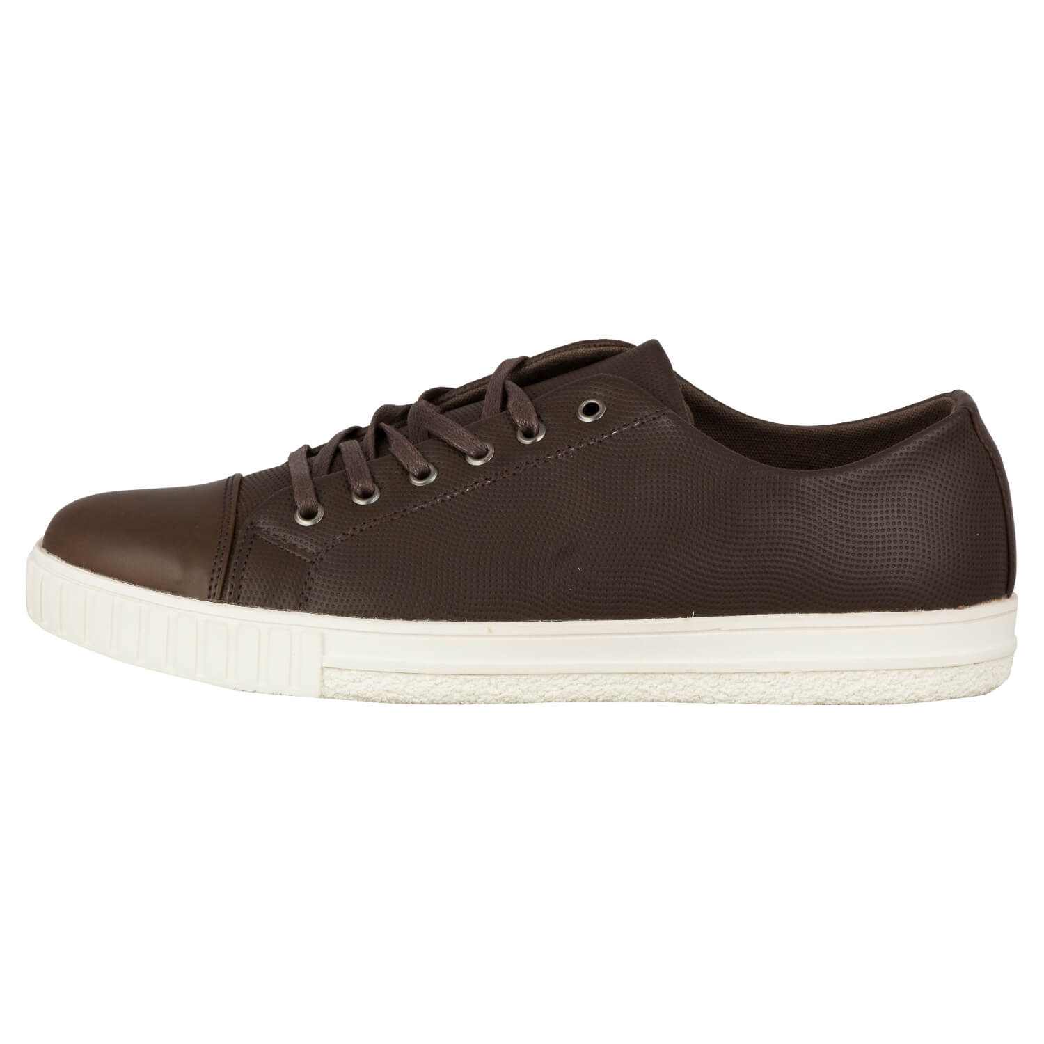 CASUAL LACE UP- BROWN 9