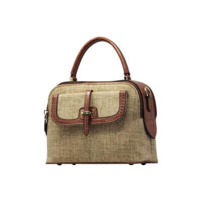 CROSS BODY HAND BAG (DF)- BROWN 1