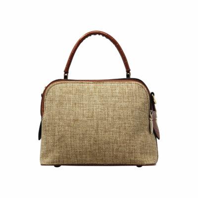 CROSS BODY HAND BAG (DF)- BROWN 4